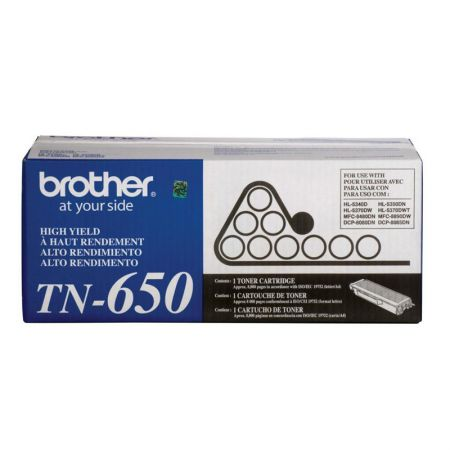 Toner Brother TN650S - preto 8000 páginas