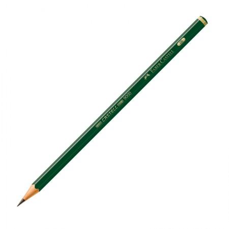 Lápis preto 2B - 9000 - unidade - Faber-Castell