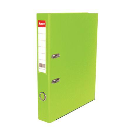 Registradora AZ ofício LE 2518 - verde cítrico - Chies
