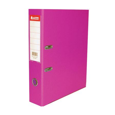Registradora AZ ofício LL 2514 - pink - Chies