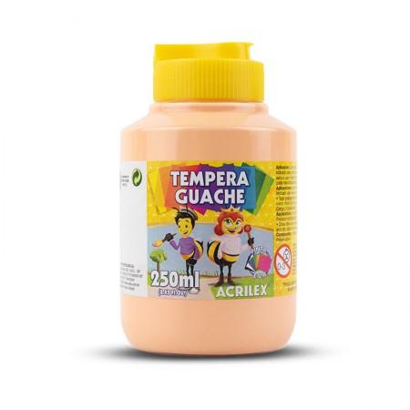 Tinta guache Amarelo Pele 250ml - 538 - Acrilex