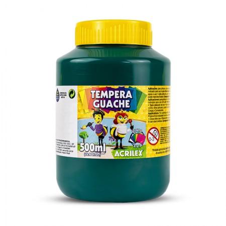 Tinta guache Verde Bandeira 500ml - 511 - Acrilex