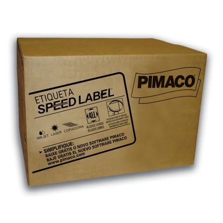 Etiqueta laser Speed Label SL61083 - com 1000 folhas - Pimaco