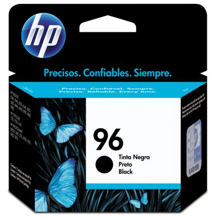 Cartucho HP Original (96) C8767WB preto até 800 páginas