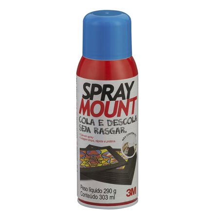 Cola líquida spray mount - 290 grs - 3M