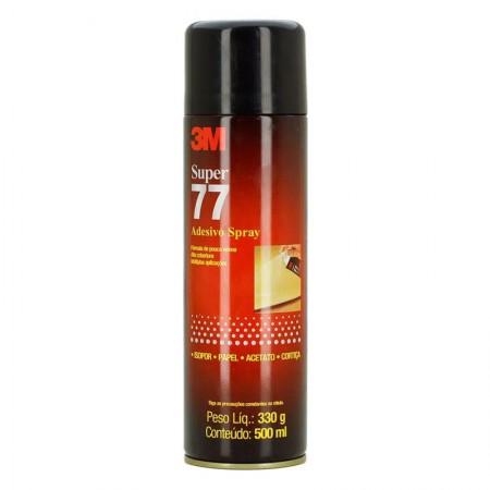 Cola adesivo spray 77 - 330grs - 3M
