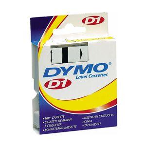 Fita para rotulador azul com escrita preta 12mm - 45016 - Dymo