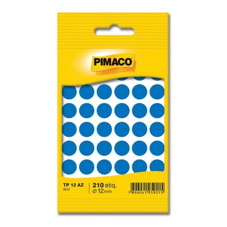 Etiqueta adesiva TP12 - azul - Pimaco