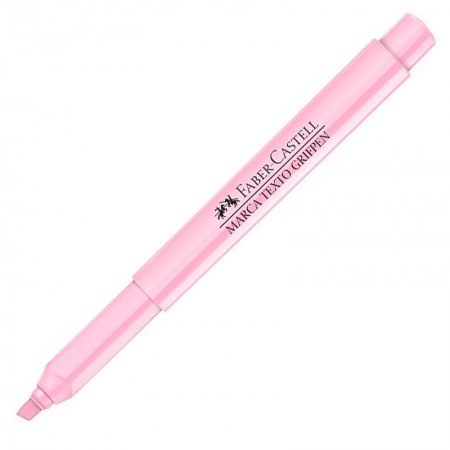 Pincel marca texto - Rosa Pastel - MT/MIXTPZF Faber-Castell