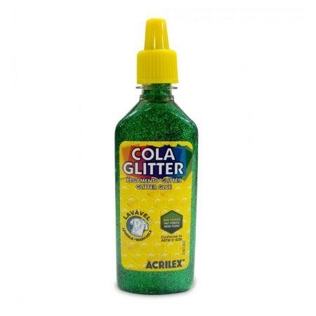 Cola glitter 23g verde 206 - Acrilex