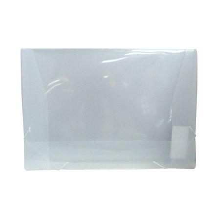 Pasta A3 com aba elástico - 700PP - Cristal - Dac