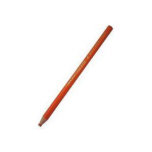 Lápis dermatográfico 7600 - laranja - Mitsubishi