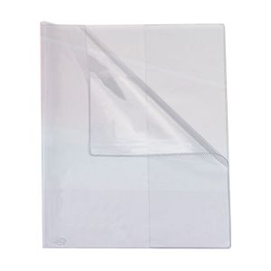 Capa de caderno 1/4 Transparente - 218 - Dac