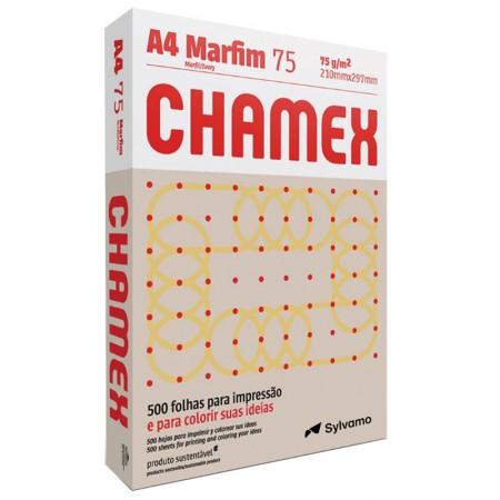 Papel sulfite A4 marfim 210x297 com 500 folhas Colors - Chamex