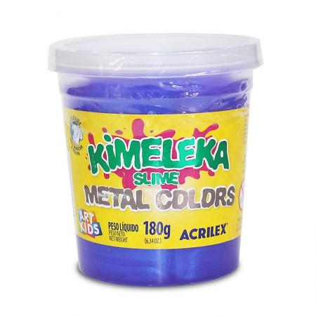 Kimeleka Art Kids metálica 180g - Violeta 673 - Acrilex