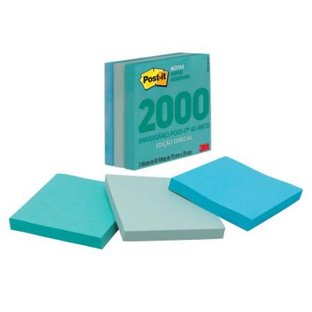 Bloco Post-It cubo seattle coleção anos 2000 270fls 3M