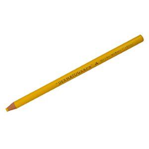 Lápis dermatográfico 7600 - amarelo - Mitsubishi