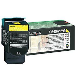 Toner Lexmark C540A1YG - amarelo 1000 páginas - serie C540/C543