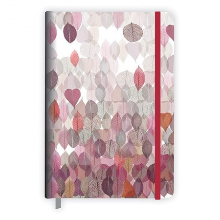Caderneta capa dura média fitto Décor - 192 folhas - Redoma