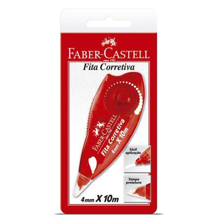 Corretivo em fita Roller  - SM /7072 - 4.2mmx10m - Faber-Castell