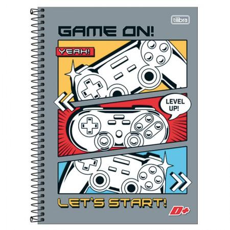 Caderno espiral capa dura universitário 10x1 - 200 folhas - D Mais - Life is a Journey - Tilibra