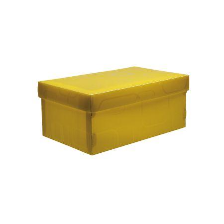 Caixa organizadora mini sapato - amarelo - 2169.A - Dello