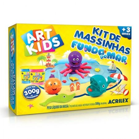 Massinha Kit Fundo do Mar - Art kids - 40037 - Acrilex