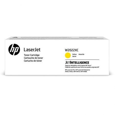 Toner HP Original (414X) W2022XC - Amarelo 7.500 páginas