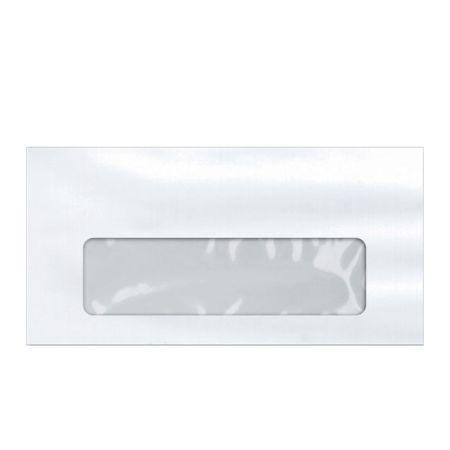 Envelope branco com janela COF048 114x229mm - caixa com 1000 unidades - Scrity
