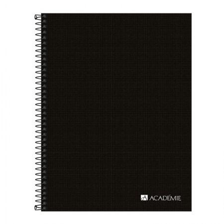 Caderno executivo capa dura - Académie Essential - 80 folhas - Tilibra