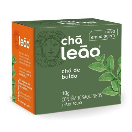 Chá de boldo - com 10 unidades - Leão Fuze