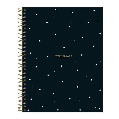 Caderno colegial capa dura 1x1 - 80 folhas - West Village - 2 - Tilibra