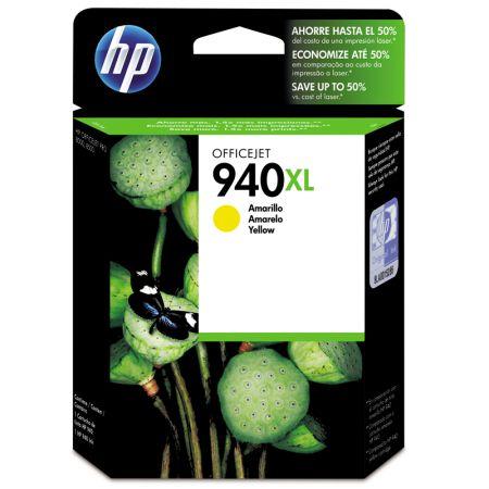 Cartucho HP Original (940XL) C4909AB - amarelo rendimento 1.400 páginas