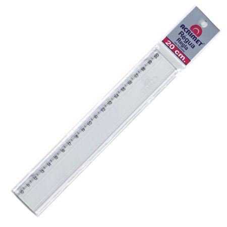 Régua poliestireno 20cm - 512 - Acrimet