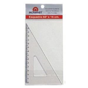 Esquadro poliestireno - 16cm x 60 graus - 521 - Acrimet