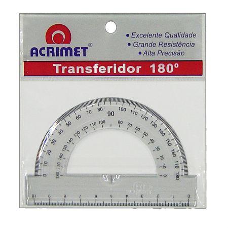 Transferidor poliestireno 180 graus - 551 - Acrimet