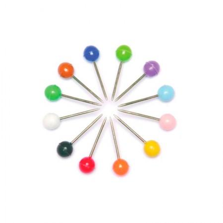 Alfinete para mapa NR 03 cores sortidas - com 25 unidades - ACC