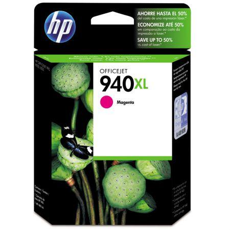 Cartucho HP Original (940XL) C4908AB - magenta rendimento 1.400 páginas