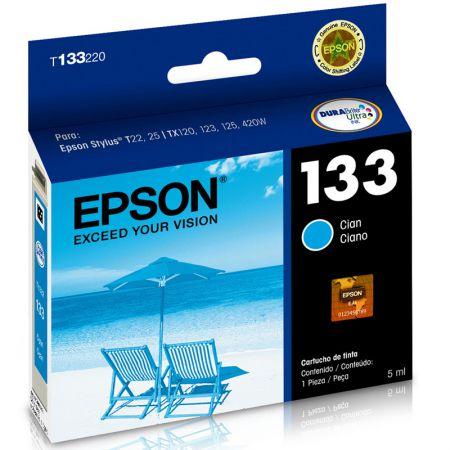 Cartucho Epson (133) T133220 - ciano 300 páginas