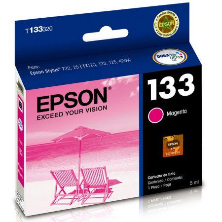 Cartucho Epson (133) T133320 - magenta 300 páginas