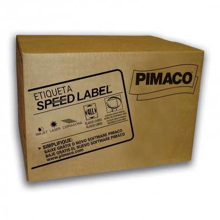 Etiqueta laser Speed Label SL61081 - 1000 folhas - Pimaco