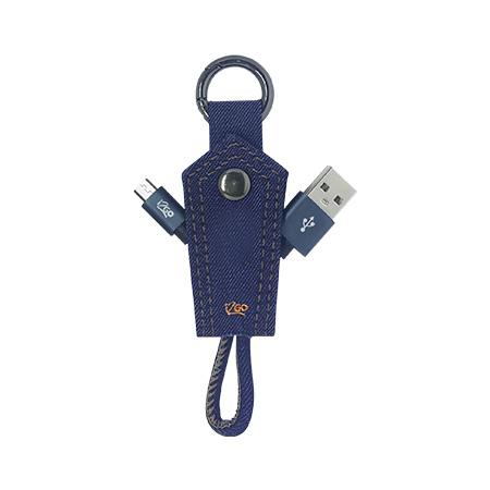 Cabo Chaveiro Micro Usb - I2GCBL950 - Jeans - I2GO