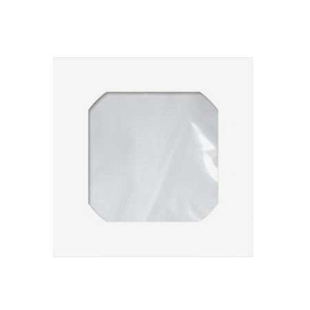 Envelope saco c/janela p/CD branco Cmd101 125x125mm blister 25und Scrity