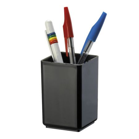 Porta lápis simples preto 933.4 - Acrimet