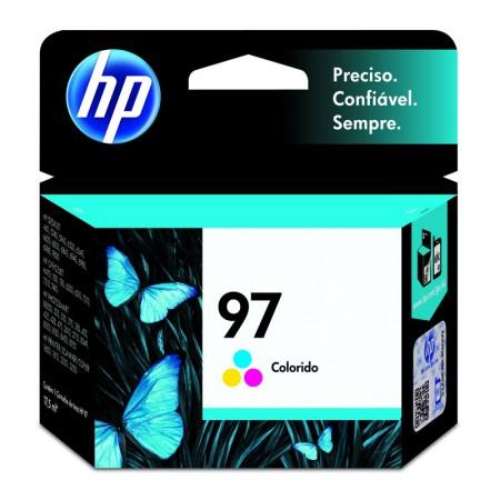 Cartucho HP Original (97) C9363WB - cores rendimento 450 páginas
