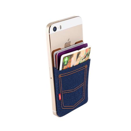 Bolso traseiro para smartphone - I2GOTH910 - Jeans - I2GO