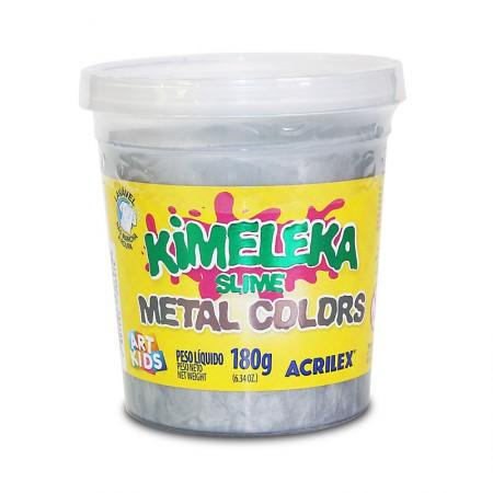 Kimeleka Art Kids metálica 180g - Prata 533 - Acrilex
