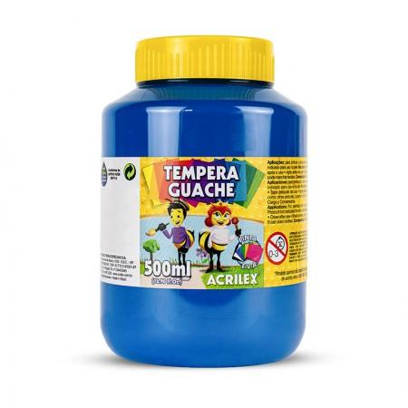 Tinta guache Azul 500ml - 559 - Acrilex