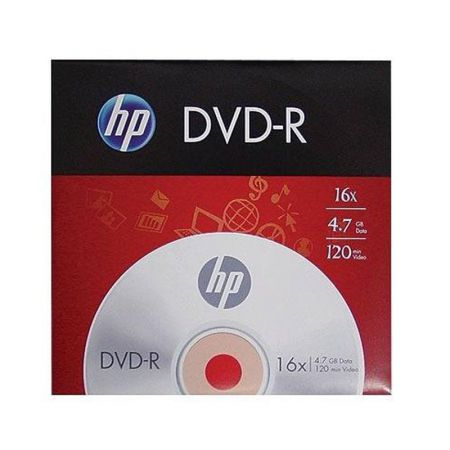 DVD-R virgem 4.7GB 120 minutos - envelope - HP