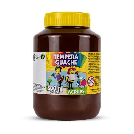Tinta guache Marrom 500ml - 531 - Acrilex